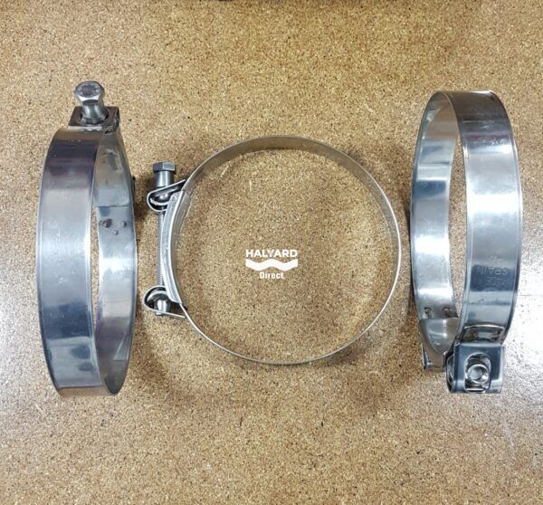 H000488 150-162mm Hose Clamp Stainless Clamps