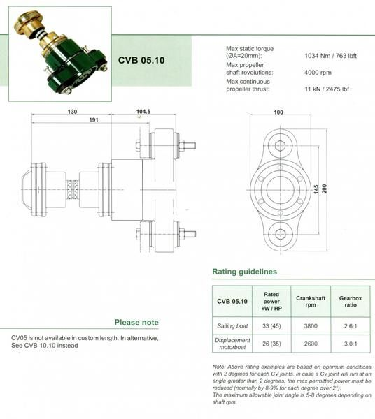 CVB05.10 Specification grande